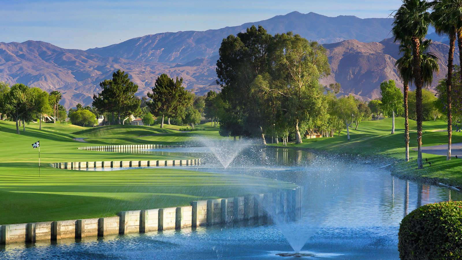 Palm Springs Golf Courses - Pete Dye Course