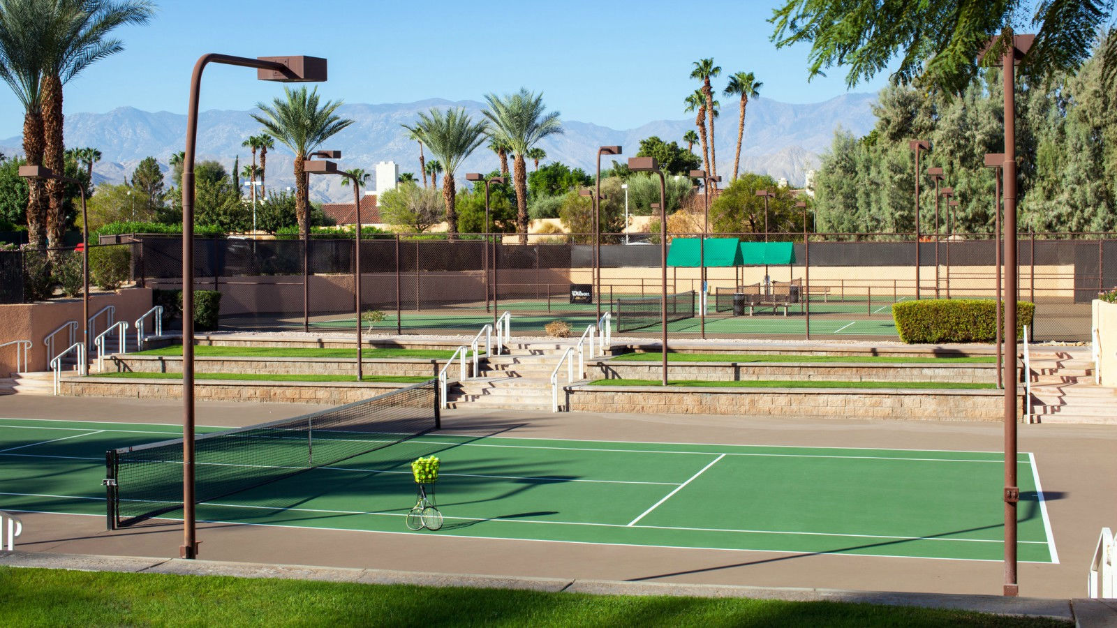 The Westin Mission Hills Golf Resort & Spa - Tennis Courts