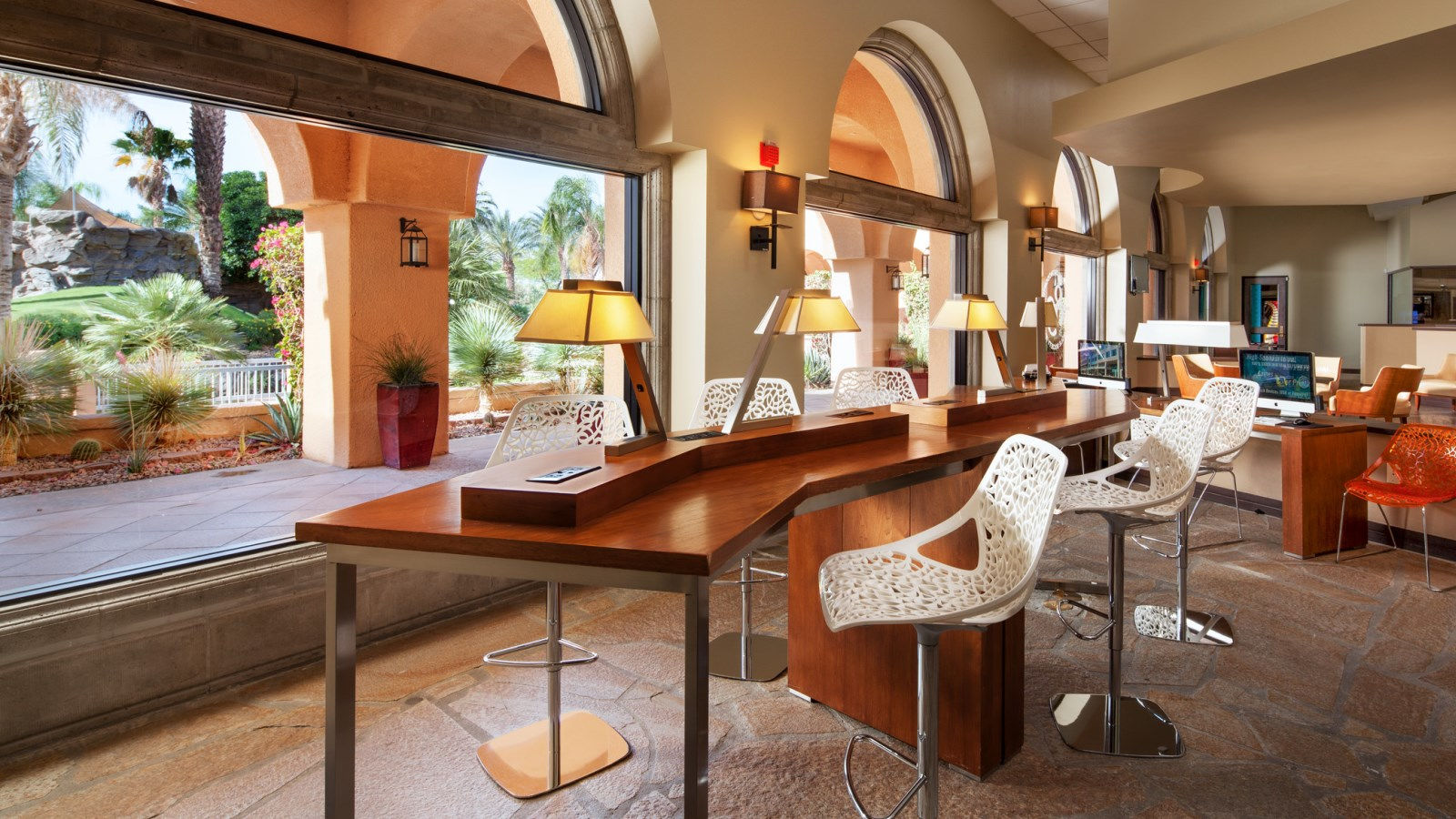 Palm Springs Resort Features - Business Center