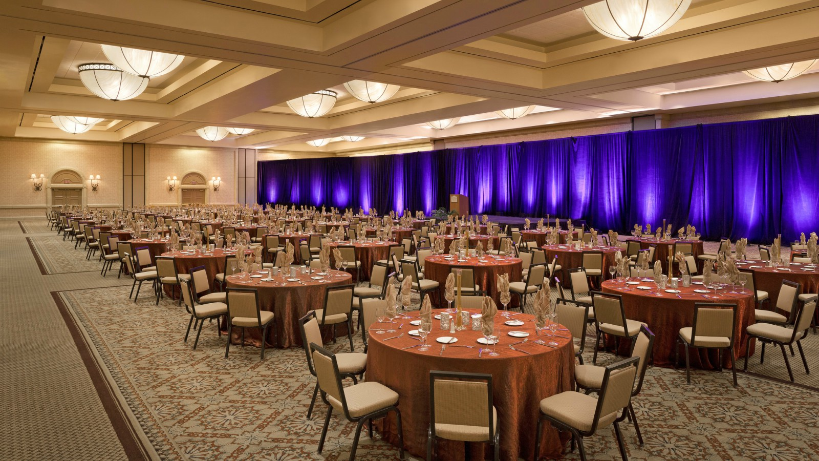 Palm Springs Meetings and Events - Ambassador Ballroom