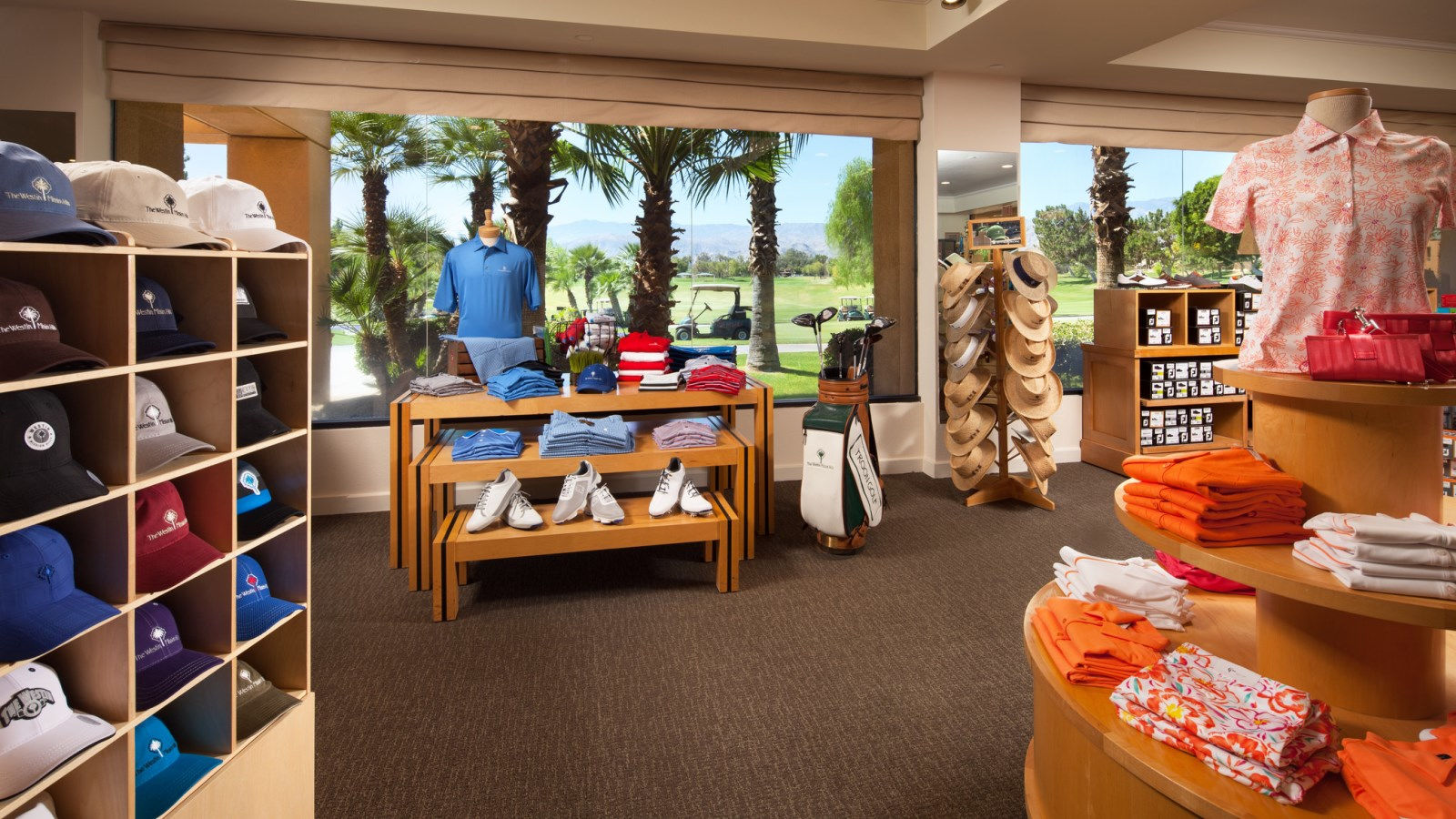 Palm Springs Resort Features - Golf Pro Shop