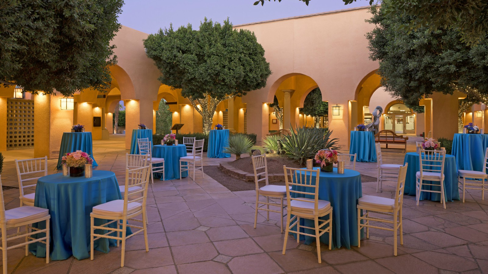 Palm Springs Meetings and Events - Oasis Courtyard