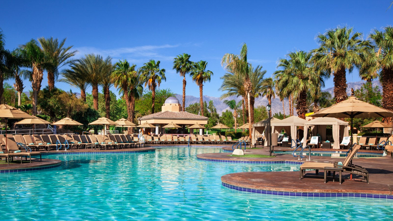 Palm Springs Resort Features - Las Brisas Pool